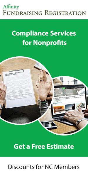 Affinity Fundraising Registration green ad get free estimate