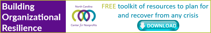 Banner ad for free download of Toolkit for Building Organizational Resilience