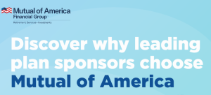 Turquoise button Discover why leading plan sponsors choose Mutual of America
