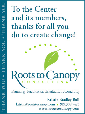 Roots to Canopy Ad Thank You to Nonprofits